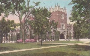 Indiana Muncie Ball Gymnasium Ball State Teachers College Handcolored Albertype