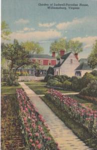 Virginia Williamsburg Garden Of Ludwell-Paradise House Curteich