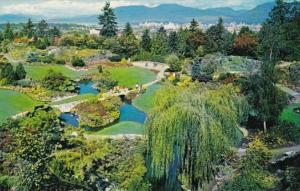 Canada Vancouver Queen Elizabeth Park Rock Garden 1951