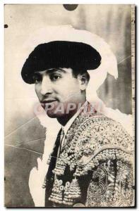 Old Postcard Bullfight Matador Bullfight