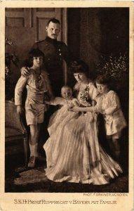 CPA AK Prinz Rupprecht v. Bayern mit Familie GERMAN ROYALTY (868503)