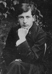 Henri Alain Alban Fournier Le Grand Meaulnes Book Author Portrait Postcard