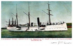 U.S. Gunboat Petrel