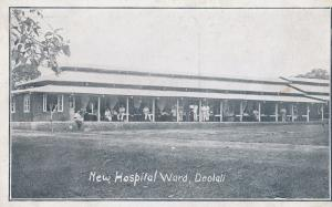 Deolali Indian Newly Built Hospital Nurses Ward Antique India Postcard