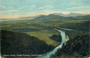 Australia Queensland Barron Valley Cairns Railway postcard 1912