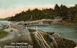 ME - Orr's Island. Bridge