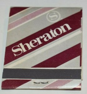 Sheraton with phone number 20 Strike Matchbook