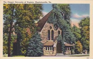 The Chapel, University of Virginia, Charlottesville, Virginia, 30-40s