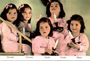 World Famous Dionne Quintuplets North Bay Ontario Canada