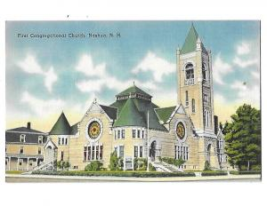 First Congregational Church Nashua New Hampshire