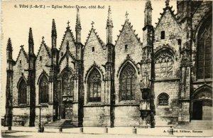 CPA Vitre Eglise Notre-Dame, cote Sud FRANCE (1015964)