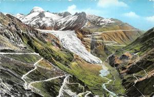 Switzerland Grimsel und Furkastrasse, Rhonegletscher mit Galenstock