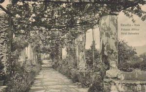 Viale Palazzo Afflitto Hotel Belvedere, Ravello (Campania), Italy, 1900-1910s