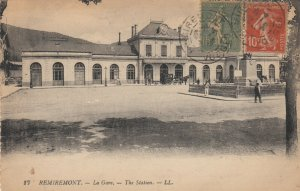 REMIREMONT , France , 1900-1910´s ; La Gare / Railroad Train Station