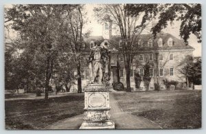 Williamsburg Virginia~William & Mary College~Sir Christopher Wren Building~1937