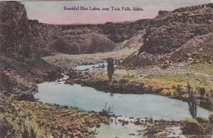 Near TWIN FALLS, Idaho, 1900-10s; Beautiful Blue Lakes