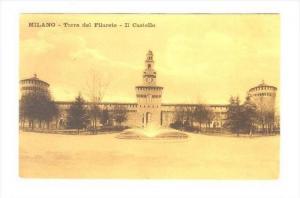 Milano , Italy - Torre del Filarete - Il Castello, ITALY, 00-10s