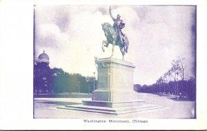 Illinois Chicago Washington Park Washington Monument
