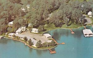 Aerial View, Lake Hamilton, Willow Beach Motel & Cottages, HOT SPRINGS, Arkan...