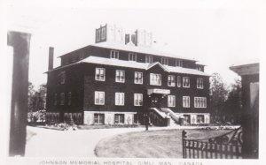 RP: Johnson Memorial Hospital , GIMLI , Manitoba , Canada , 30-40s