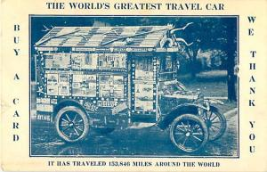 W/B The World's Greatest Travel Car-Has Traveled 152,846 Mil
