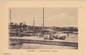 DAHOMEY . 1910s-30s ;  PORTO NOVO - Le Wharf