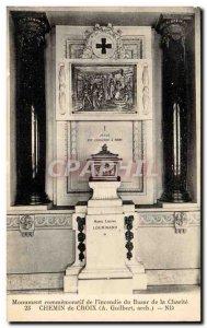 Paris - 1 - Commemorative Monument & # 39Incendie the Bazar de la Charite - O...