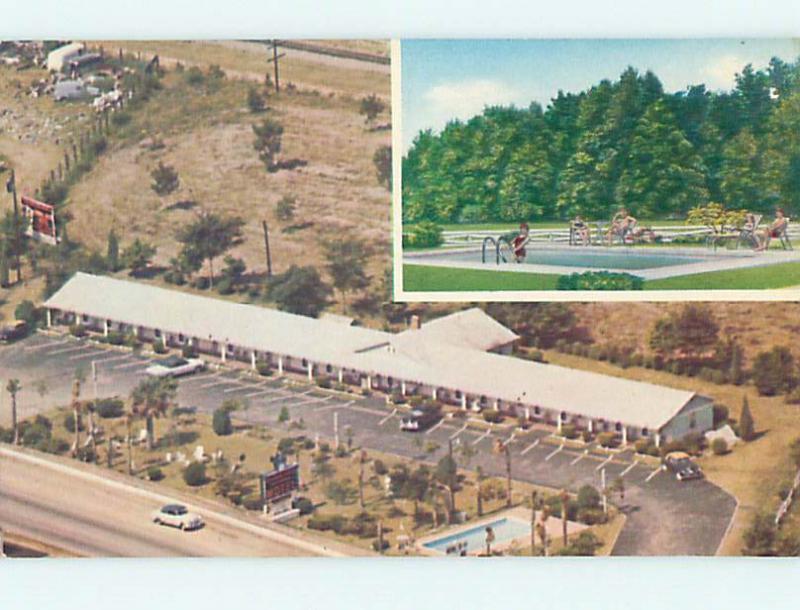 Pre-1980 OLD CARS & STONEWALL JACKSON MOTEL Dillon South Carolina SC n9770@