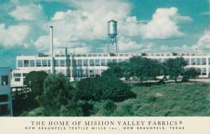 NEW BRAUNFELS , Texas , 50-60s ;Home of Mission Valley Fabrics