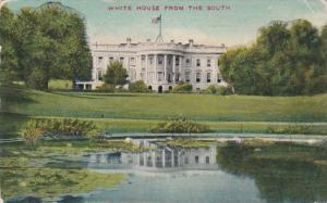 Washington D C The White House From The South 1911