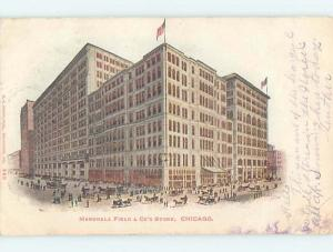 Pre-1907 POSTCARD SCENE Chicago Illinois IL hp9337