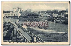 Old Postcard Biarritz Gateway of the Rock of the Virgin