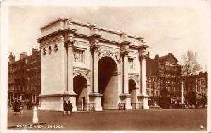 London, Marble Arch, Auto Carriage Car, real photograph 1933
