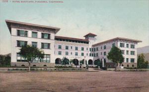 California Pasadena Hotel Maryland