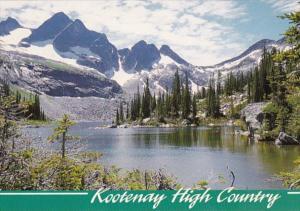 Canada British Columbia Kootenay High Country