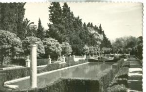 Spain, Sevilla, Alcazar, Jardines unused Postcard