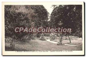 Postcard Old House Monestier Deville Place Saint Cloud