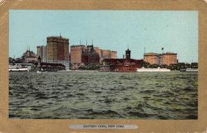 Battery Park, New York, N.Y., Early Postcard, Unused