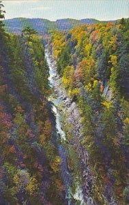 Quechee Gorge Near Quechee Vermont