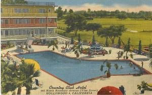 Country Club Hotel, 445 N Rossmore Ave, Hollywood, 4 California, CA, Linen