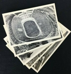 Los Angeles California Grogan Photographs Vintage RPPC  Olympic Stadium Lot of 5