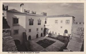 Portugal Obidos Patio da Pousada do Castelo Real Photo
