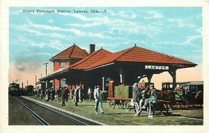 OK, Lawton, Oklahoma, Frisco Passenger Station, Edward H. Mitchelc No. 3325