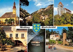 Moedling Hinterbruehl Rathaus Hinterbruehl Burg Liechtenstein Seegrotte