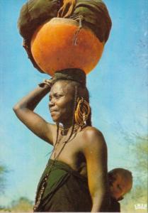 Chad N'Djamena Femme Peul Peul Woman
