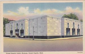 Michigan Grand Rapids Public Museum 1949 Curteich