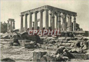 Postcard Modern Aegina The Temple of Athena Aphaea