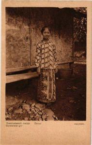 CPA GAROET Soendaneesche meisje INDONESIA (565927)