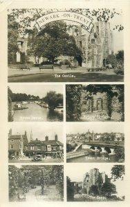 Postcard Uk England Newark on Trent, Northamptonshire