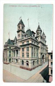 PITTSBURGH, Pennsylvania, PU-1908; Pittsburg Post Office